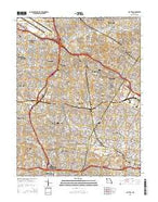 Clayton Missouri Current topographic map, 1:24000 scale, 7.5 X 7.5 Minute, Year 2015 from Missouri Map Store