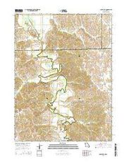 Coatsville Missouri Current topographic map, 1:24000 scale, 7.5 X 7.5 Minute, Year 2015 from Missouri Maps Store