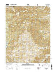 Coffman Missouri Current topographic map, 1:24000 scale, 7.5 X 7.5 Minute, Year 2015 from Missouri Maps Store