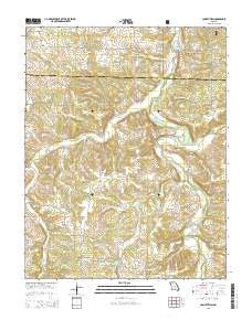 Competition Missouri Current topographic map, 1:24000 scale, 7.5 X 7.5 Minute, Year 2015