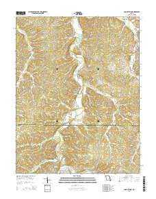 Cook Station Missouri Current topographic map, 1:24000 scale, 7.5 X 7.5 Minute, Year 2015