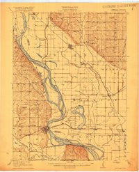 Craig Missouri Historical topographic map, 1:62500 scale, 15 X 15 Minute, Year 1920