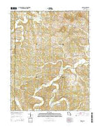 Dissen Missouri Current topographic map, 1:24000 scale, 7.5 X 7.5 Minute, Year 2015 from Missouri Map Store