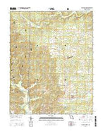 Doniphan North Missouri Current topographic map, 1:24000 scale, 7.5 X 7.5 Minute, Year 2015 from Missouri Map Store