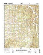 Doss Missouri Current topographic map, 1:24000 scale, 7.5 X 7.5 Minute, Year 2015 from Missouri Map Store