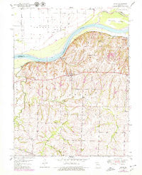 Dover Missouri Historical topographic map, 1:24000 scale, 7.5 X 7.5 Minute, Year 1950