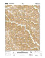 Downing NW Missouri Current topographic map, 1:24000 scale, 7.5 X 7.5 Minute, Year 2015 from Missouri Map Store