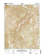 Eldridge East Missouri Current topographic map, 1:24000 scale, 7.5 X 7.5 Minute, Year 2015 from Missouri Map Store