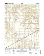 Farber Missouri Current topographic map, 1:24000 scale, 7.5 X 7.5 Minute, Year 2015 from Missouri Map Store