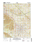 Farmington Missouri Current topographic map, 1:24000 scale, 7.5 X 7.5 Minute, Year 2015 from Missouri Map Store