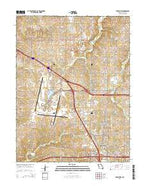 Ferrelview Missouri Current topographic map, 1:24000 scale, 7.5 X 7.5 Minute, Year 2015 from Missouri Map Store