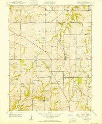 Ferrelview Missouri Historical topographic map, 1:24000 scale, 7.5 X 7.5 Minute, Year 1950