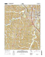 Festus Missouri Current topographic map, 1:24000 scale, 7.5 X 7.5 Minute, Year 2015 from Missouri Map Store