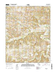 Filley Missouri Current topographic map, 1:24000 scale, 7.5 X 7.5 Minute, Year 2015