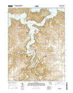 Florida Missouri Current topographic map, 1:24000 scale, 7.5 X 7.5 Minute, Year 2015 from Missouri Map Store