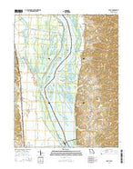 Foley Missouri Current topographic map, 1:24000 scale, 7.5 X 7.5 Minute, Year 2015 from Missouri Map Store