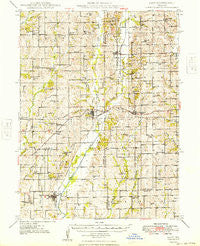 Galt Missouri Historical topographic map, 1:62500 scale, 15 X 15 Minute, Year 1949