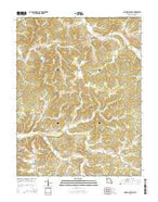 Goerlisch Ridge Missouri Current topographic map, 1:24000 scale, 7.5 X 7.5 Minute, Year 2015 from Missouri Map Store