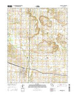 Golden City Missouri Current topographic map, 1:24000 scale, 7.5 X 7.5 Minute, Year 2015 from Missouri Map Store