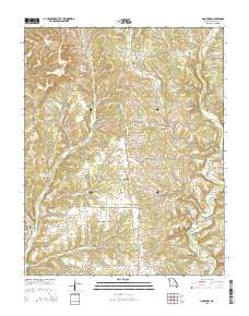 Goodhope Missouri Current topographic map, 1:24000 scale, 7.5 X 7.5 Minute, Year 2015