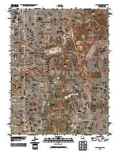Grandview Missouri Historical topographic map, 1:24000 scale, 7.5 X 7.5 Minute, Year 2009