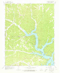 Gravois Mills Missouri Historical topographic map, 1:24000 scale, 7.5 X 7.5 Minute, Year 1959