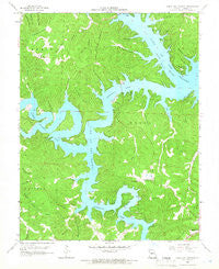 Green Bay Terrace Missouri Historical topographic map, 1:24000 scale, 7.5 X 7.5 Minute, Year 1959