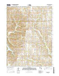Greentop Missouri Current topographic map, 1:24000 scale, 7.5 X 7.5 Minute, Year 2015