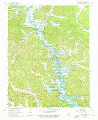 Greenville SW Missouri Historical topographic map, 1:24000 scale, 7.5 X 7.5 Minute, Year 1966