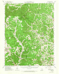 Higdon Missouri Historical topographic map, 1:62500 scale, 15 X 15 Minute, Year 1959