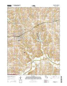 Higginsville Missouri Current topographic map, 1:24000 scale, 7.5 X 7.5 Minute, Year 2015