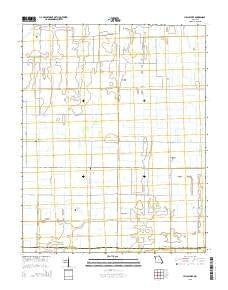 Hills Store Missouri Current topographic map, 1:24000 scale, 7.5 X 7.5 Minute, Year 2015