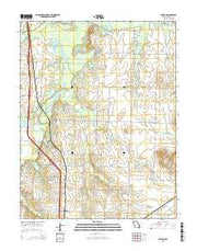 Horton Missouri Current topographic map, 1:24000 scale, 7.5 X 7.5 Minute, Year 2015 from Missouri Maps Store