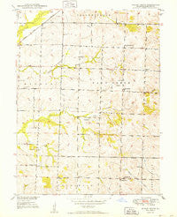 Indian Grove Missouri Historical topographic map, 1:24000 scale, 7.5 X 7.5 Minute, Year 1949