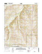 Ionia Missouri Current topographic map, 1:24000 scale, 7.5 X 7.5 Minute, Year 2014 from Missouri Map Store