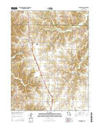 Jacksonville Missouri Current topographic map, 1:24000 scale, 7.5 X 7.5 Minute, Year 2014 from Missouri Map Store