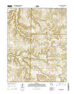 Jerico Springs Missouri Current topographic map, 1:24000 scale, 7.5 X 7.5 Minute, Year 2015 from Missouri Map Store