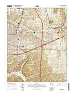 Joplin East Missouri Current topographic map, 1:24000 scale, 7.5 X 7.5 Minute, Year 2015 from Missouri Map Store