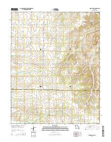 Kings Point Missouri Current topographic map, 1:24000 scale, 7.5 X 7.5 Minute, Year 2015