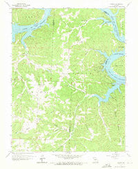 Knobby Missouri Historical topographic map, 1:24000 scale, 7.5 X 7.5 Minute, Year 1959
