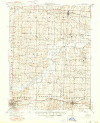 Knobnoster Missouri Historical topographic map, 1:62500 scale, 15 X 15 Minute, Year 1917