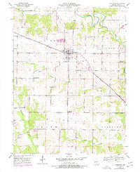 Lewistown Missouri Historical topographic map, 1:24000 scale, 7.5 X 7.5 Minute, Year 1950