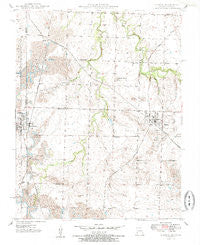 Liberal Missouri Historical topographic map, 1:24000 scale, 7.5 X 7.5 Minute, Year 1950