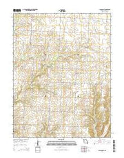 Lincoln NW Missouri Current topographic map, 1:24000 scale, 7.5 X 7.5 Minute, Year 2014 from Missouri Maps Store