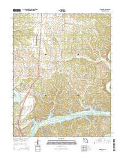 Lincoln SE Missouri Current topographic map, 1:24000 scale, 7.5 X 7.5 Minute, Year 2014 from Missouri Maps Store