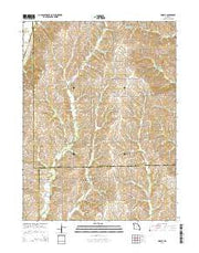 Lindley Missouri Current topographic map, 1:24000 scale, 7.5 X 7.5 Minute, Year 2014 from Missouri Maps Store