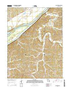 Loose Creek Missouri Current topographic map, 1:24000 scale, 7.5 X 7.5 Minute, Year 2015