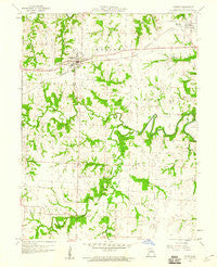 Madison Missouri Historical topographic map, 1:24000 scale, 7.5 X 7.5 Minute, Year 1959
