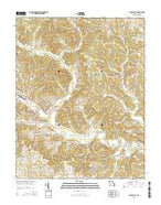 Marble Hill Missouri Current topographic map, 1:24000 scale, 7.5 X 7.5 Minute, Year 2015 from Missouri Map Store