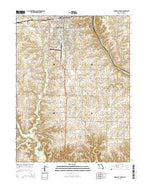 Marshall South Missouri Current topographic map, 1:24000 scale, 7.5 X 7.5 Minute, Year 2015 from Missouri Map Store